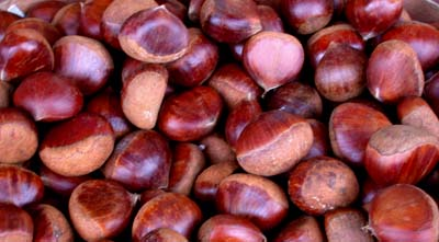 Chestnuts (roasting on an open fire)