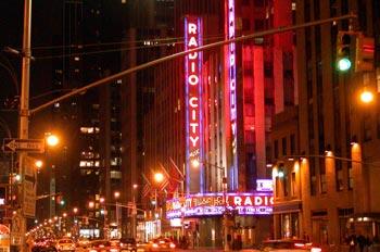 radio city music hall, nyc, usa