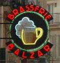 a photo of the Balzar's sign