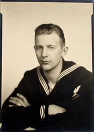 My grandpa in the Navy, 1944