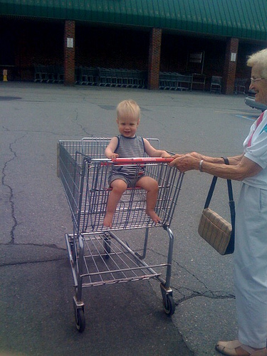 Shopping cart fun