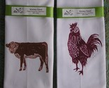 barnyard buddies towel set