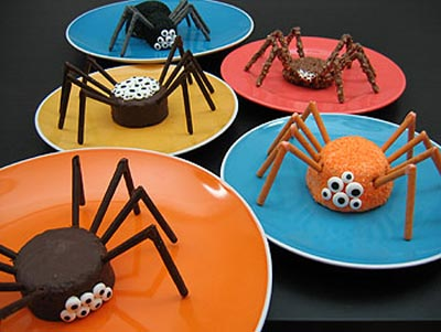 crawly cakes for halloween